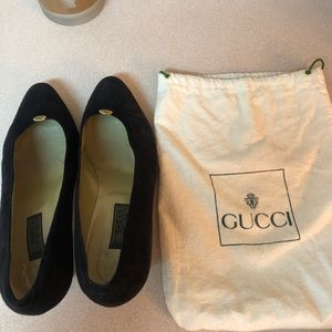 Timeless Gucci Suede Shoes